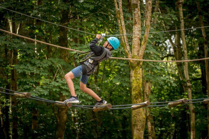 Tree-Top Adventure Walk & Climbing Wall