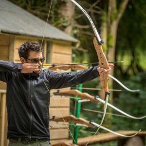 Archery at Castlecomer Discovery Park