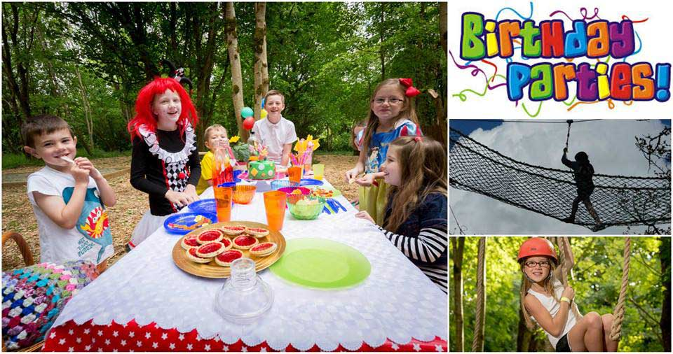Birthday Parties at Castlecomer Discovery Park