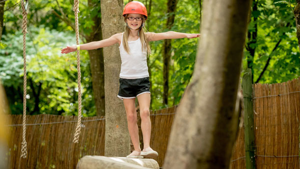 Junior Woodland Adventure Course