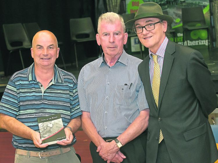 "L - R - Cllr Maurice Shortall, Seamus Walsh, Michael Conway at the launch of ""Coal in the Blood"""